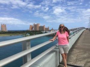 Stephanie in the Caribbean